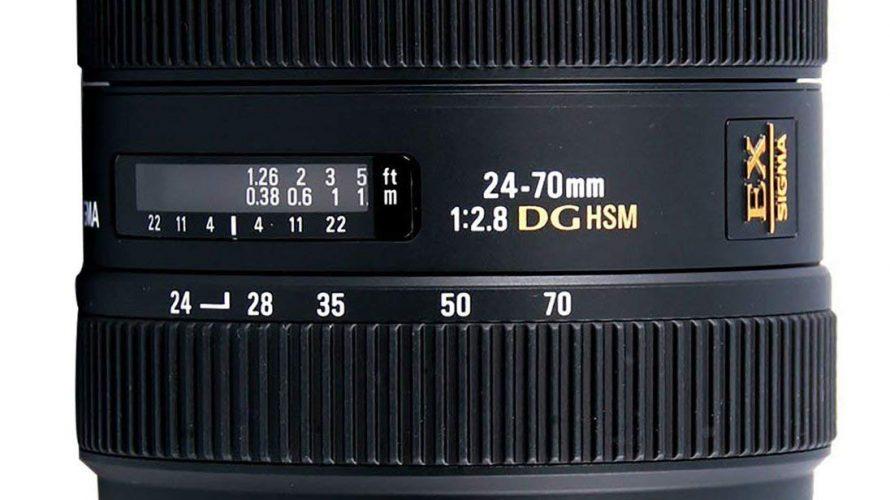隠れた銘玉 SIGMA 24-70mm F2.8 EX DG MACRO