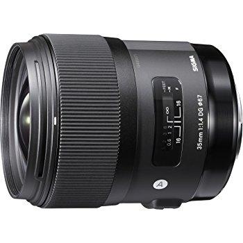 単焦点の銘玉 SIGMA 単焦点広角レンズ Art 35mm F1.4 DG HSM